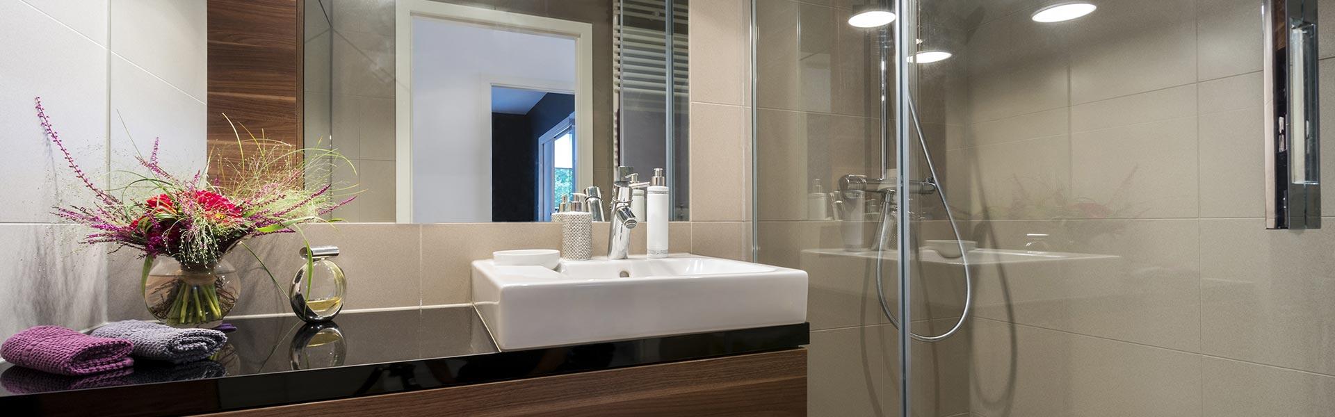Salle de bains clé en main Lyon Negoce Carrelage à Jons